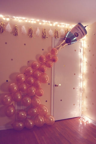 Fairy Lights with Balloons