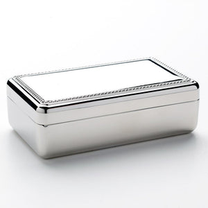 Double Velvet Rectanglular Jewelry Box