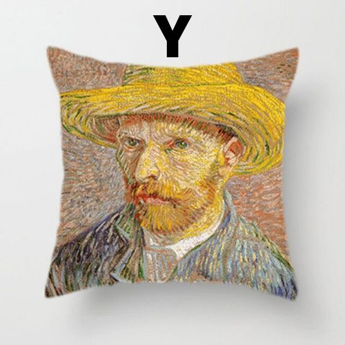Van Gogh Oil Painting Cushion Cover