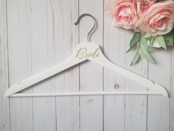 Bride Hanger for Wedding Dress Photo Prop Wedding