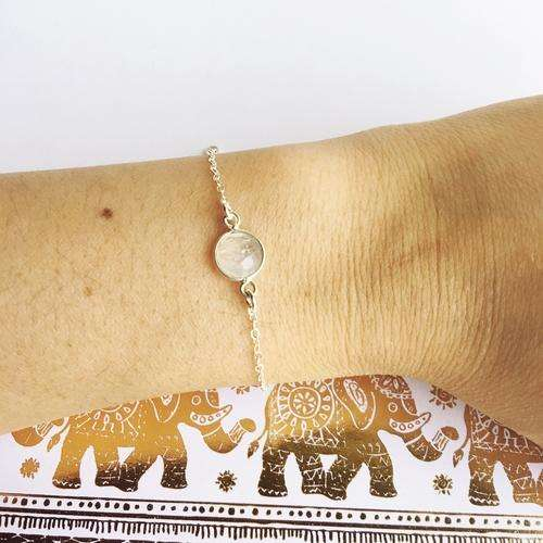 Will you Be My? Floral Reef Moonstone Bracelet - Event Supply Shop
