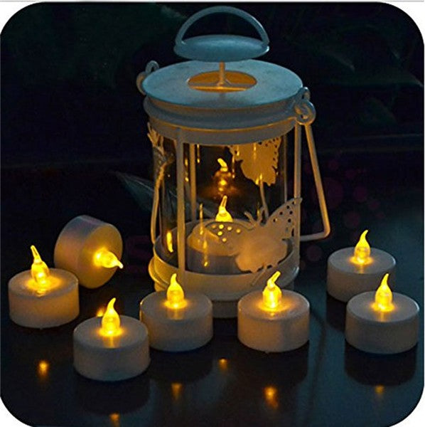 Flameless Yellow Tea Light