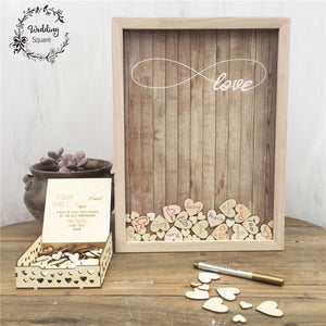 Rustic Sweet Wedding Guestbook