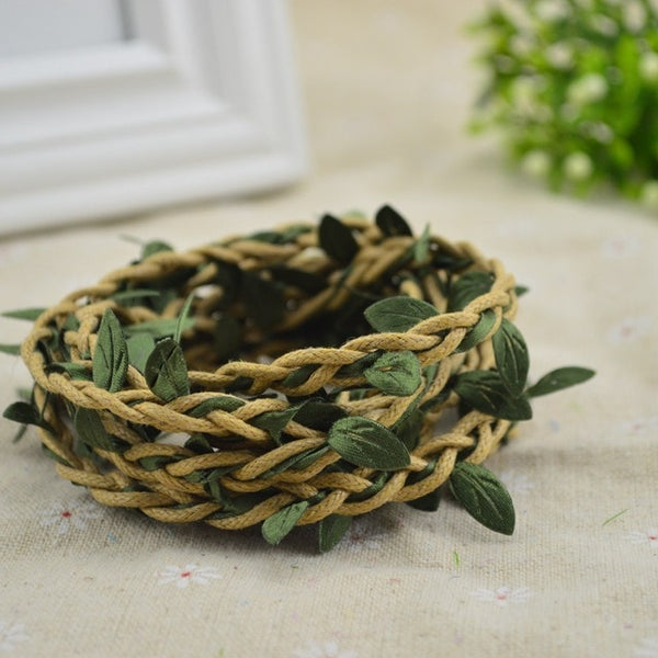 Vine Leaves Wreath for Home & Wedding Decor
