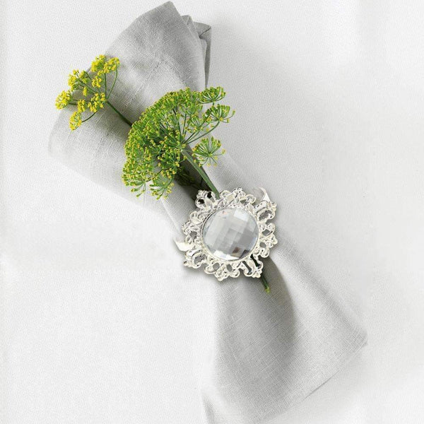 12 Regal Napkin Rings - Event Supply Shop