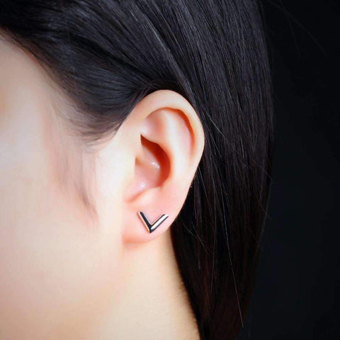 Elegant Arrow Stud Earrings