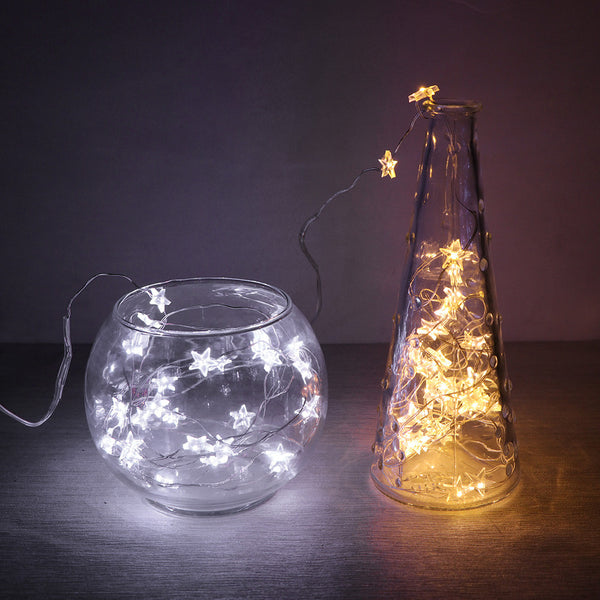Star Copper Wire String Lights - Event Supply Shop