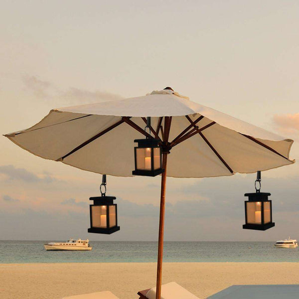 Flameless Solar Hanging Lantern (Waterproof) - Event Supply Shop