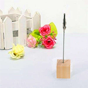 20 Tabletop Photo Holders Table Numbers - Event Supply Shop