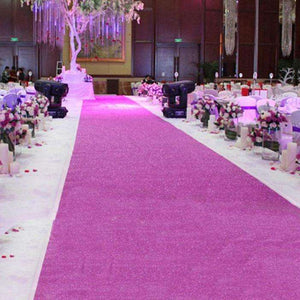 Glitter Aisle Runner 32ft - Event Supply Shop