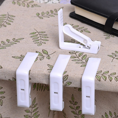 Table Cloth Holder Clamps Set of 4