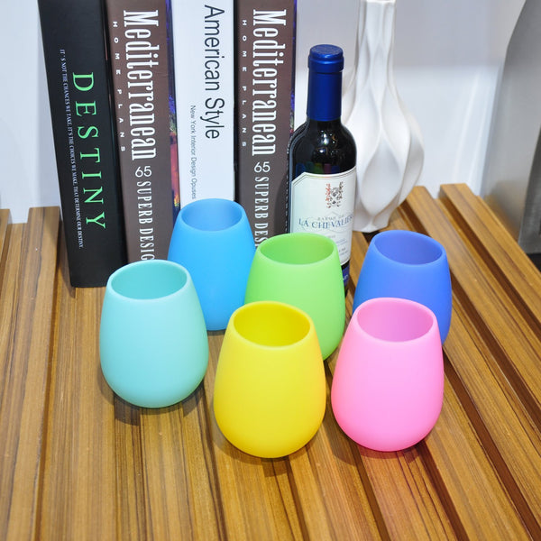 Unbreakable Wine Glasses, Set of 6