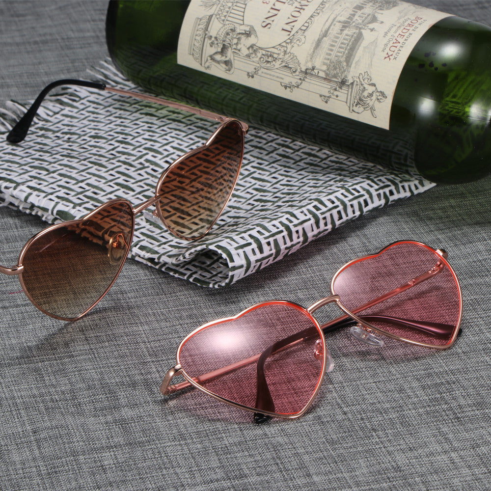 Bachelorette Heart Shaped Aviator Sunglasses - Event Supply Shop