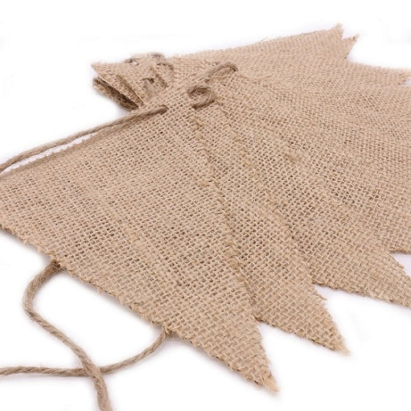 Burlap Banner for Rustic Wedding Decoration