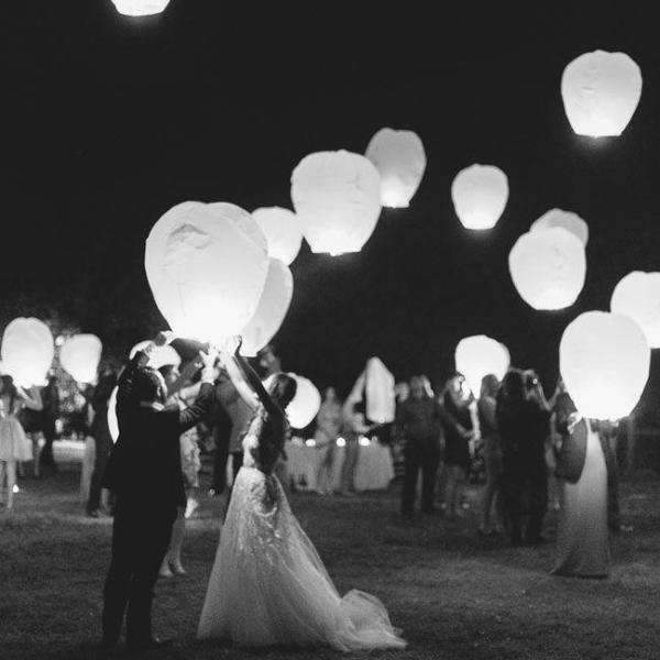 Delicate Oval Chinese Lanterns