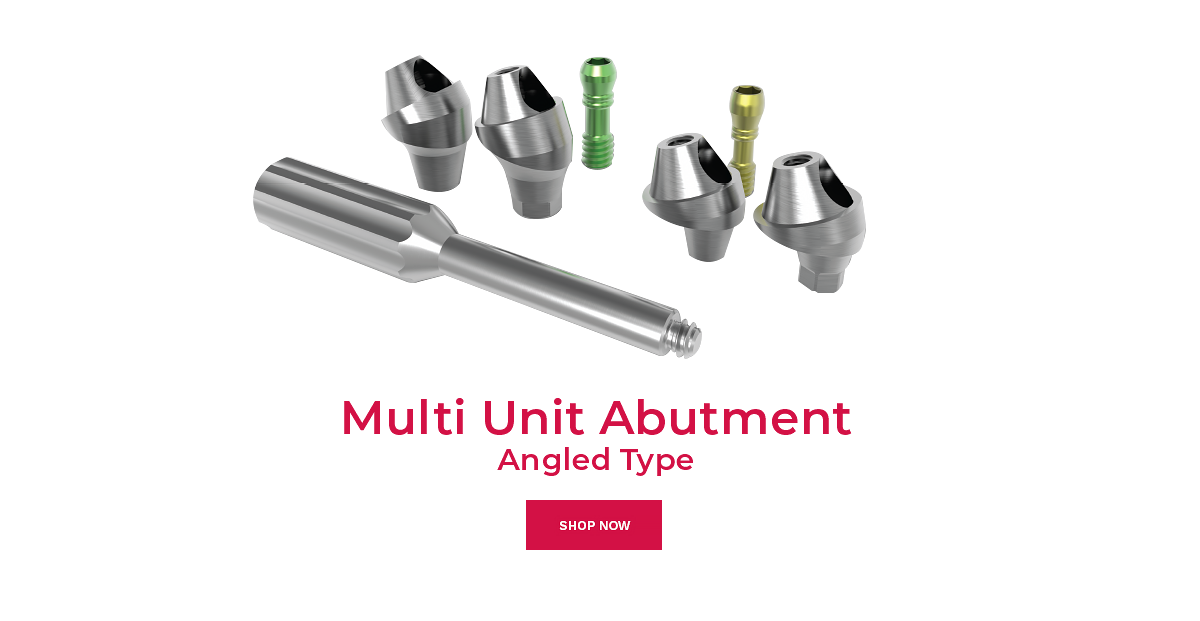 multi unit abutment angled type