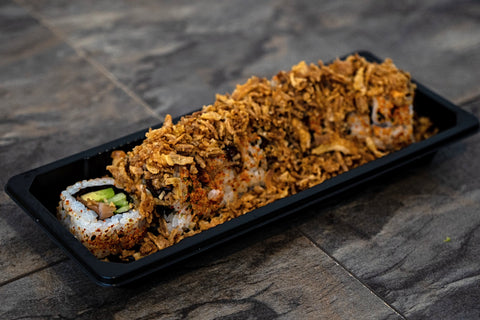 Spicy Salmon Crunchy Roll