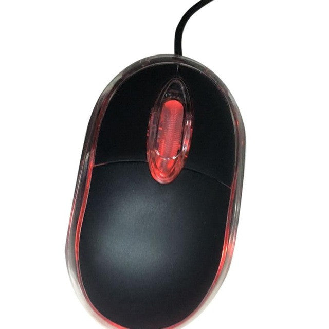 Malloom 2017  New Design Mouse Gaming In Computer Mice 1200 DPI USB Wired Optical Gaming Mice Mouse For PC Laptop