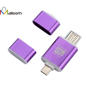 2In1 Micro SD OTG 2017 Drop Shipping USB 2.0 Flash Drive Card Reader For Samsung Galaxy Tab3 Note8 P5210 P5200