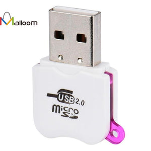 2017 Wholesale Price High Speed Mini Micro SD USB 2.0 Micro  TF T-Flash Memory SD Card Reader Adapter#20