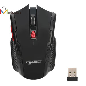 Malloom New Arrival 2.4GHz 6D 1600DPI Mouse Gamer USB Wireless Optical Gaming Mouse  2017 in Computer Mice For Laptop