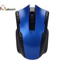 2016 Free Shipping Game Mouse Christmas Gift 2.4GHz Mice Optical Mouse Cordless USB Receiver PC Computer Wireless For Laptop