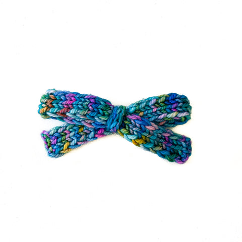 Mermaids Unite - Knitted Bow