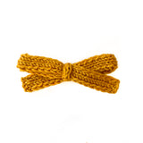 Gold Rush - Knitted Bow