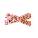 Pink Sorbet - Knitted Bow