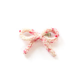 Hand-tied Crochet Bow - Paris Pink