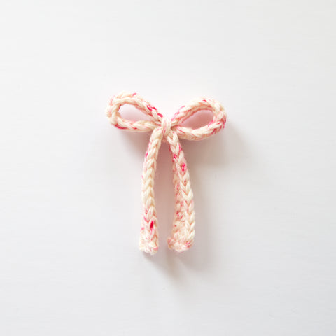 Crochet Bow - Paris Pink
