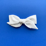 Juliana - Vintage White Bow