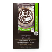 <b>casein & lactose free</b> ketogenic instant chai tea - Know Brainer Foods