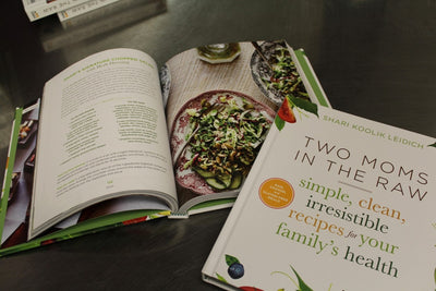 Cookbook that appeals to whole family.  Healthy cooked and raw recipes.