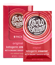original ketogenic creamer - Know Brainer Foods