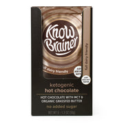 ketogenic instant hot chocolate - Know Brainer Foods