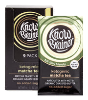 ketogenic instant matcha tea - Know Brainer Foods