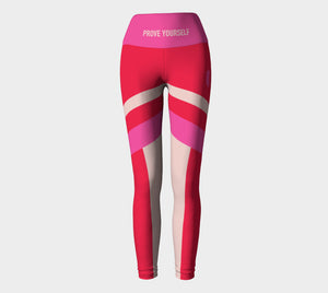 Angled Color Block Legging