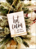 Hot Cocoa - Ornament Set (5)