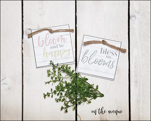 Bloom & Be Happy - Block Set (2)