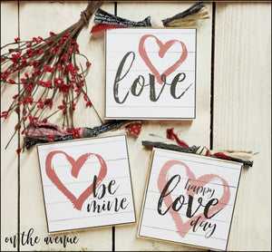 Happy Love Day - Block Set