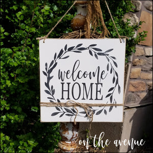 Welcome Home ~ Door Hanger