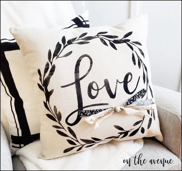 LOVE - Stuffed Pillow
