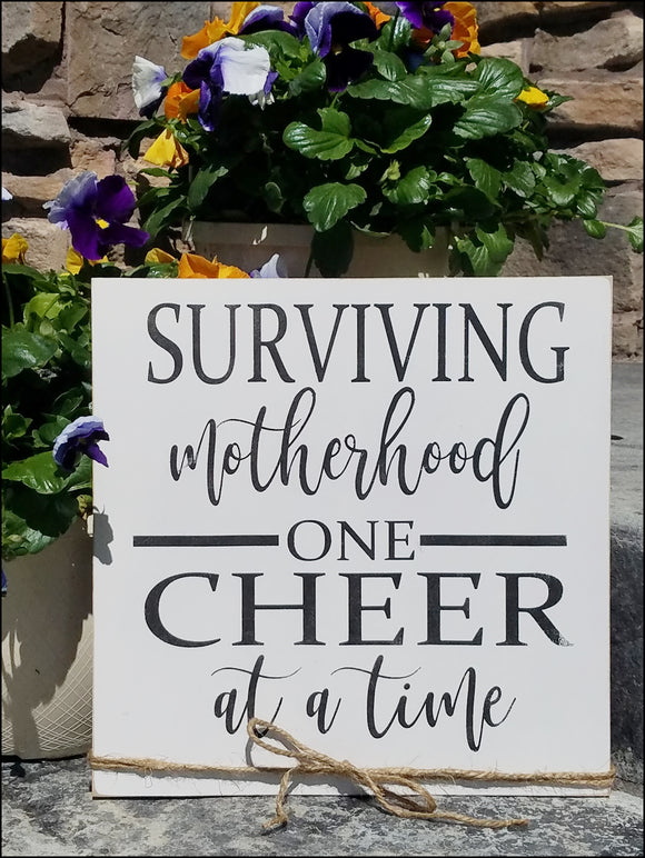 Surviving Motherhood One Cheer At A Time
