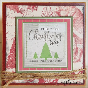 Farm Fresh Christmas Trees - Block
