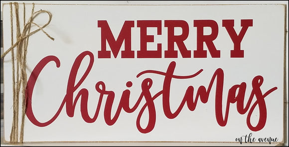 Merry Christmas ~ Holiday Sign