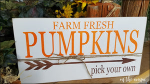 Farm Fresh Pumpkins - Pick Your Own