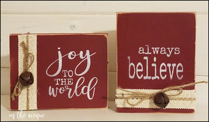 Joy To The World/Always Believe Block Set