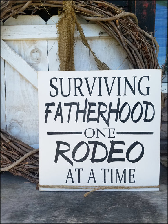 Surviving Fatherhood One Rodeo At A Time