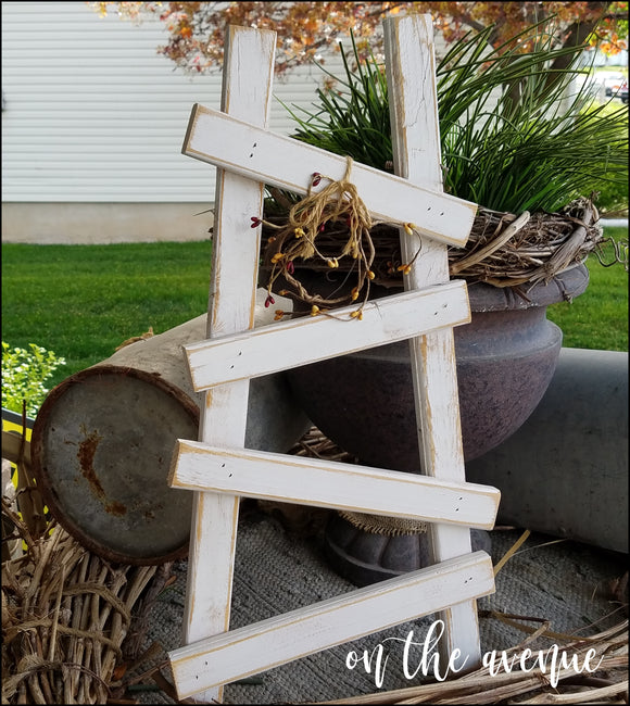 Rustic Shelf Ladder